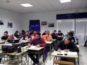 Os alumnos durante o Taller.