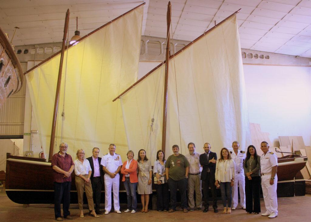 Entrega_embarcación_Aixola_9m-Escuela_Naval_Militar